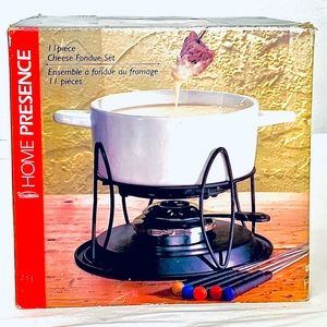 Other - 11 PIECE CHEESE FONDUE